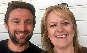 Debbie Jones and Mark Jones, Swansea University